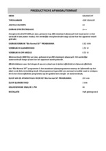 Instructie BAUKNECHT vaatwasser inbouw GSIPX264A3P