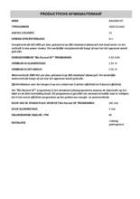 Instructie BAUKNECHT vaatwasser inbouw GSXK5104A2