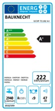 Instructie BAUKNECHT vaatwasser inbouw smal GCXP71102 A+