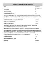 Instructie BAUKNECHT vaatwasser wit GSF 102414 A+++ WS