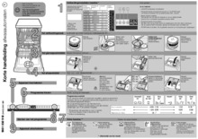 Instructie BOSCH vaatwasser inbouw verhoogd SBV86M60EU