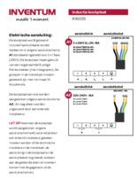 Instructie INVENTUM kookplaat inductie inbouw IKI6035