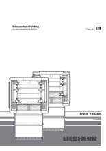 Instructie LIEBHERR koelkast french door CBNes6256-24