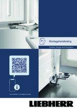 Instructie LIEBHERR koelkast inbouw DRe4101-20