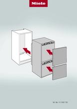 Instructie MIELE koelkast inbouw KFN 7714 F