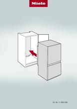 Instructie MIELE koelkast inbouw KF 7731 E