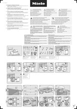 Instructie MIELE vaatwasser inbouw G5073SCVI