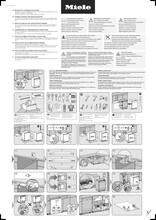 Instructie MIELE vaatwasser inbouw G7166 SCVI XXL