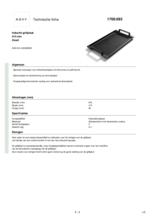 Instructie NOVY gietijzeren grillplaat 1700093
