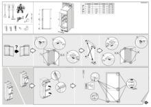 Instructie PELGRIM koelkast inbouw PKD5122V