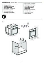 Instructie SIEMENS combinatie oven inbouw rvs HE33GB550