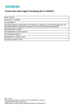 Instructie SIEMENS stofzuiger wit VSZ5300