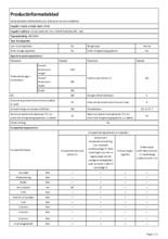 Instructie SMEG koelkast inbouw S8C124DE