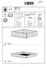 Instructie V-ZUG lade inbouw Drawer V2000 14