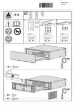 Instructie V-ZUG warmhoudlade inbouw WarmingDrawer V4000 28 zwart glas