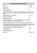 Instructie WHIRLPOOL vaatwasser inbouw WBC 3C34 P X
