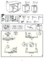 Instructie WHIRLPOOL vaatwasser inbouw WIC 3C33 PE