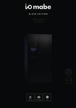 Instructie ioMabe koelkast mat/zwart ORE24CGF 3BM