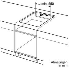 Afmetingen BOSCH kookplaat inductie PIE645B17E