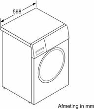 Afmetingen BOSCH wasmachine WAL28PH0NL