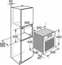 Maattekening PELGRIM combi-magnetron MAG495RVS
