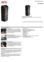 Product informatie AEG luchtreiniger AX91-604DG