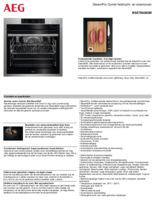 Product informatie AEG oven inbouw rvs BSE798280M