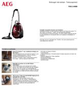 Product informatie AEG stofzuiger rood VX6-2-ANIM
