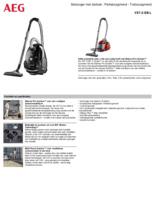 Product informatie AEG stofzuiger zwart VX7-2-EB-L