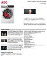 Product informatie AEG was-droogcombinatie L8WENS06C