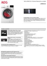 Product informatie AEG wasmachine L6FBKOLN+