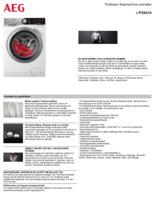 Product informatie AEG wasmachine L7FE84CS