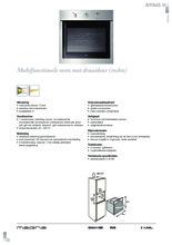 Product informatie ATAG oven inbouw OX6411ER