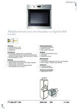 Product informatie ATAG oven inbouw OX6411LR