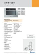 Product informatie BAUKNECHT combi-magnetron EMCHE8138PT