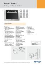 Product informatie BAUKNECHT combi-magnetron EMCHE8144PT