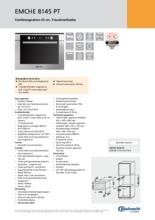 Product informatie BAUKNECHT combi-magnetron EMCHE8145PT