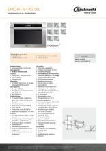 Product informatie BAUKNECHT combi-magnetron EMCHT9145IXL