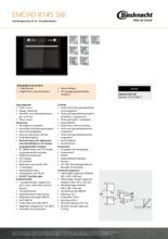 Product informatie BAUKNECHT combi-magnetron zwart EMCHD8145SW