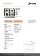 Product informatie BAUKNECHT kookplaat inbouw TGW6465IXL