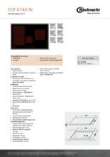 Product informatie BAUKNECHT kookplaat inductie ESIF6740IN