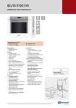 Product informatie BAUKNECHT oven inbouw wit BLVES8100EW