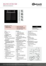 Product informatie BAUKNECHT oven inbouw zwart BLVMS8100SW