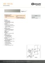 Product informatie BAUKNECHT warmhoud lade WD160IXL
