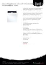 Product informatie BORETTI vaatwasser inbouw BVW684