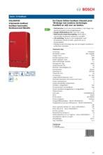 Product informatie BOSCH koelkast rood KSL20AR30
