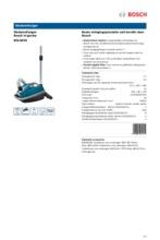 Product informatie BOSCH stofzuiger BGL8430