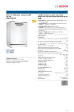 Product informatie BOSCH vaatwasser SGS4HTW47E