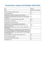 Product informatie ELECTROLUX vaatwasser inbouw ESL8330RO