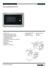 Product informatie ETNA magnetron inbouw SM225RVS